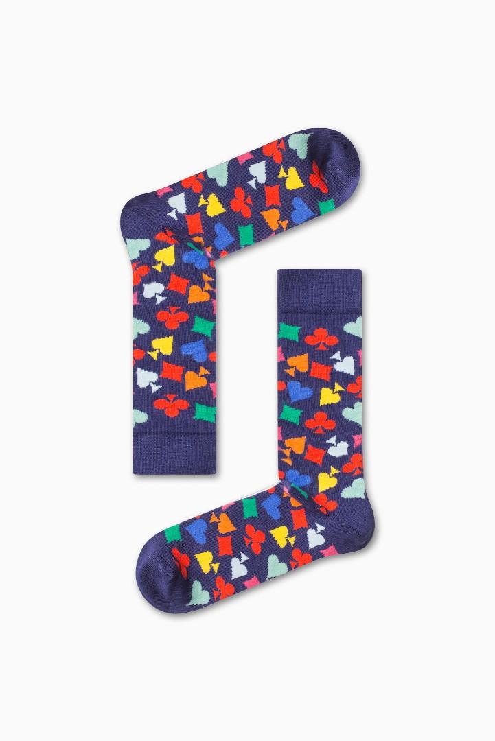 Κάλτσα Cards Symbol Χωρίς Ραφές Vtexsocks