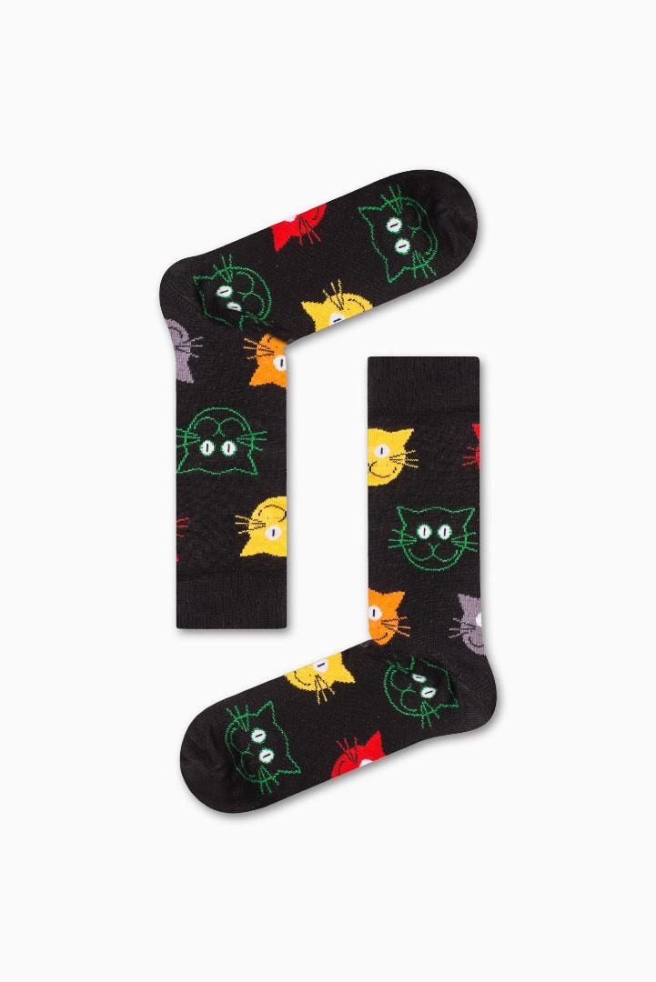 Κάλτσα Cat v2 Χωρίς Ραφές Vtexsocks