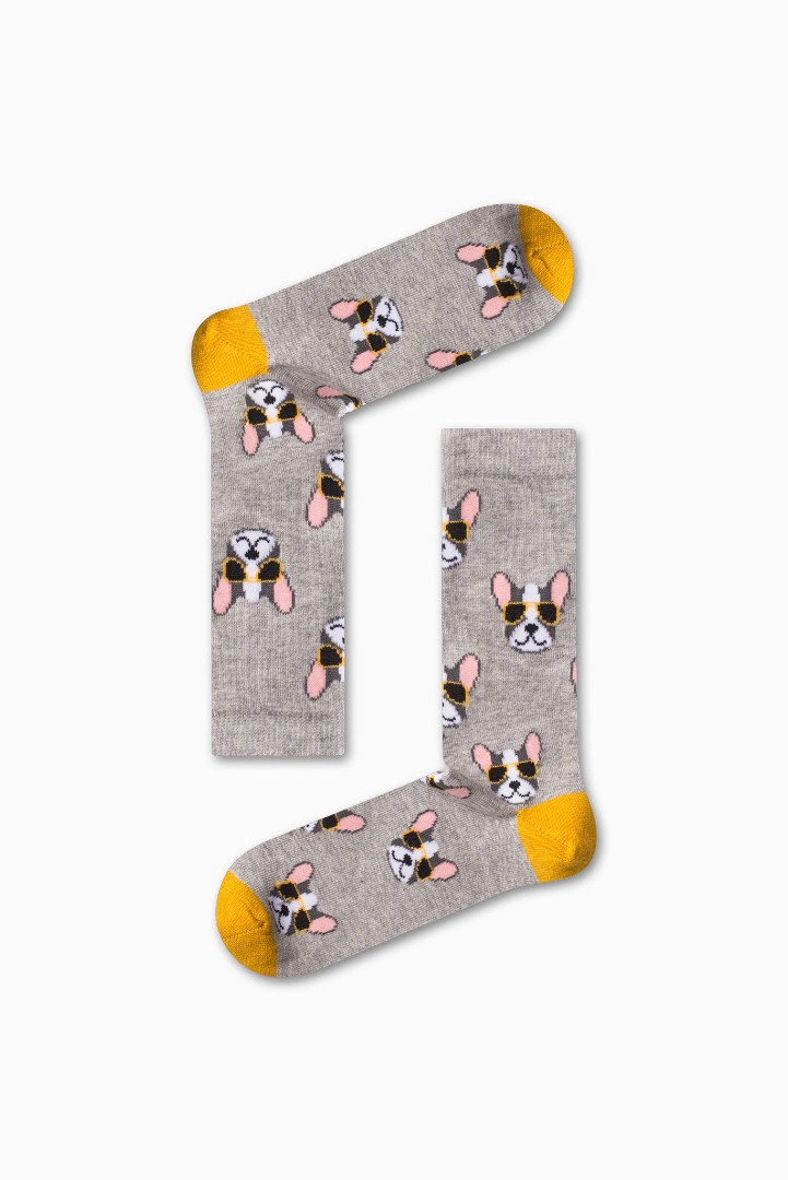 Κάλτσα Cool Dog Χωρίς Ραφές Vtexsocks