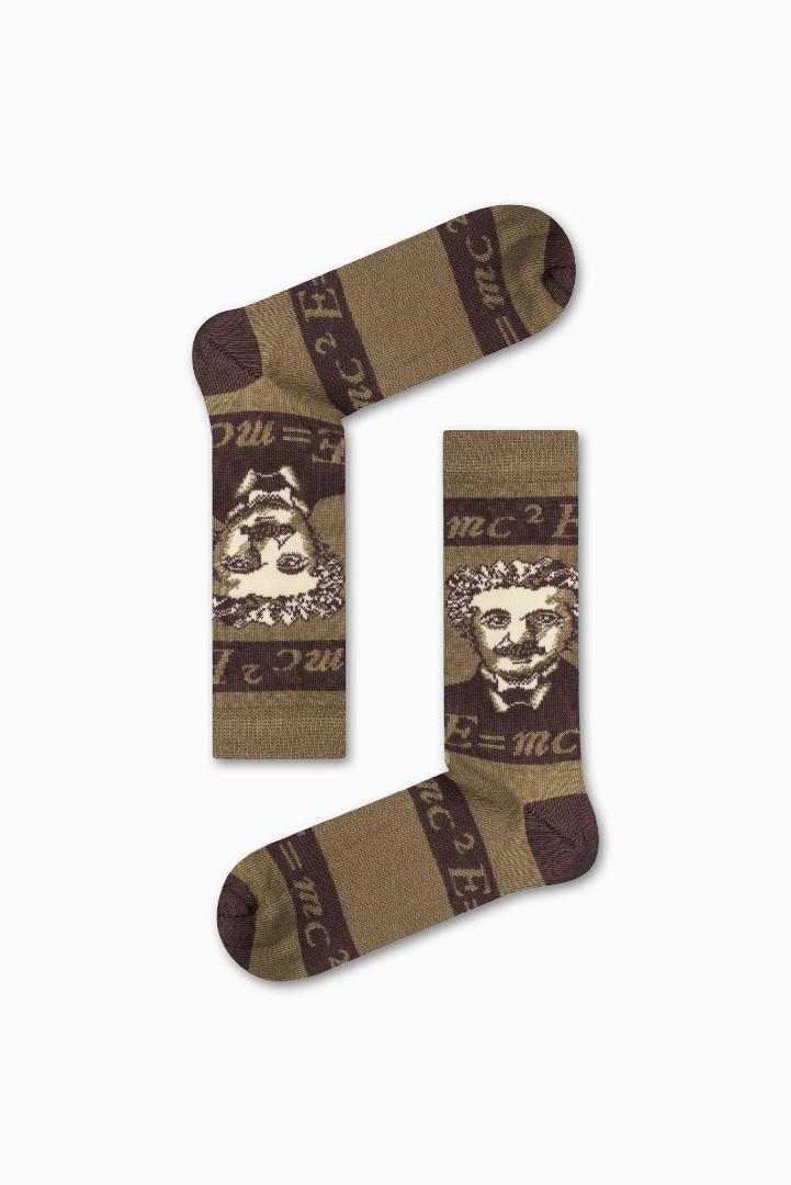 Κάλτσα Einstein e=mc2 v2 Χωρίς Ραφές Vtexsocks