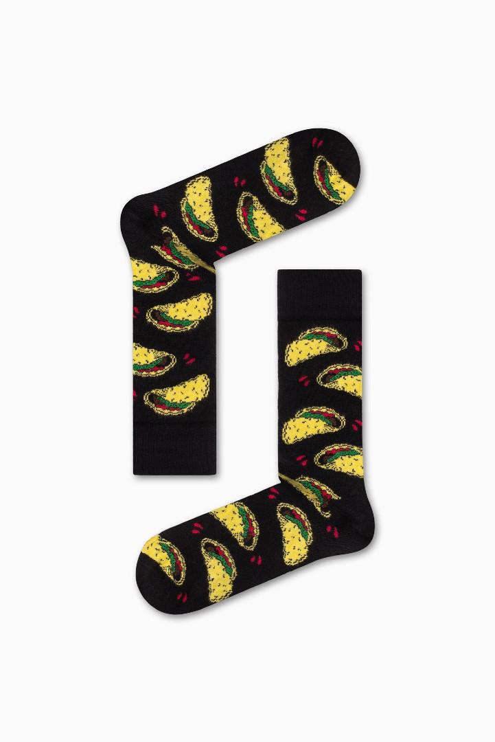 Κάλτσα Hot Tacos Χωρίς Ραφές Vtexsocks