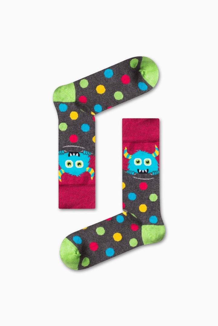 Κάλτσα Little Monsters Χωρίς Ραφές Vtexsocks