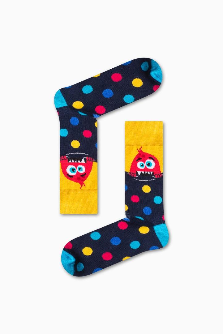 Κάλτσα Little Monsters v1 Χωρίς Ραφές Vtexsocks