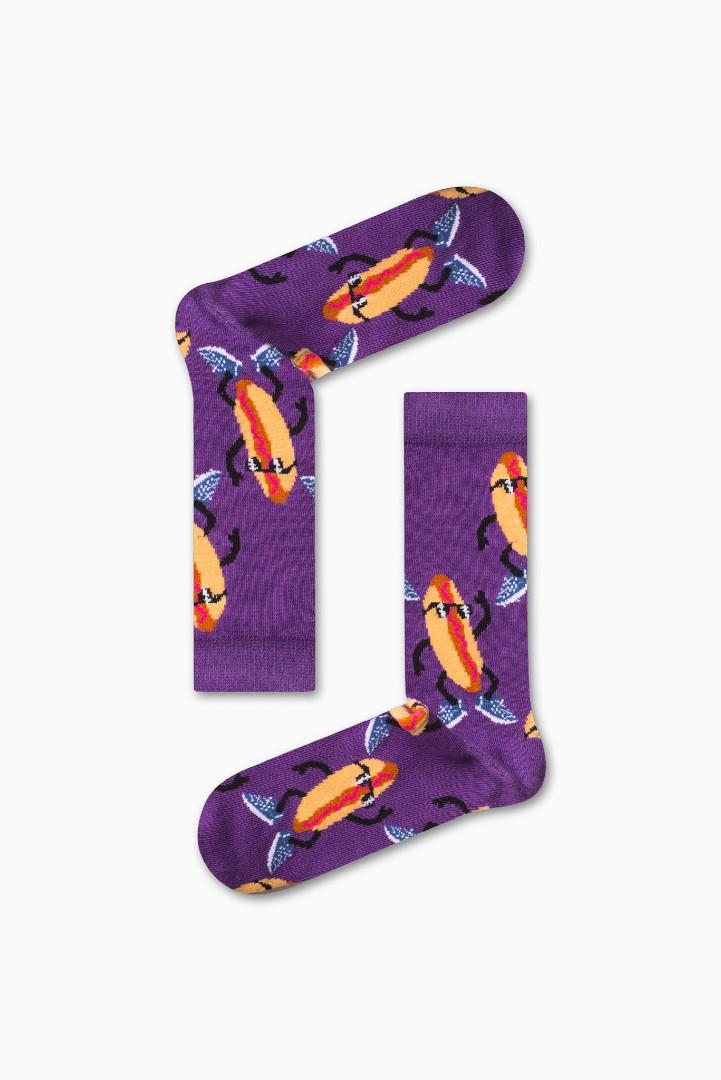 Κάλτσα Mr.Hot Dog Χωρίς Ραφές Vtexsocks