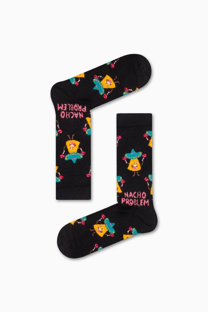 Κάλτσα Nacho Problem Χωρίς Ραφές Vtexsocks