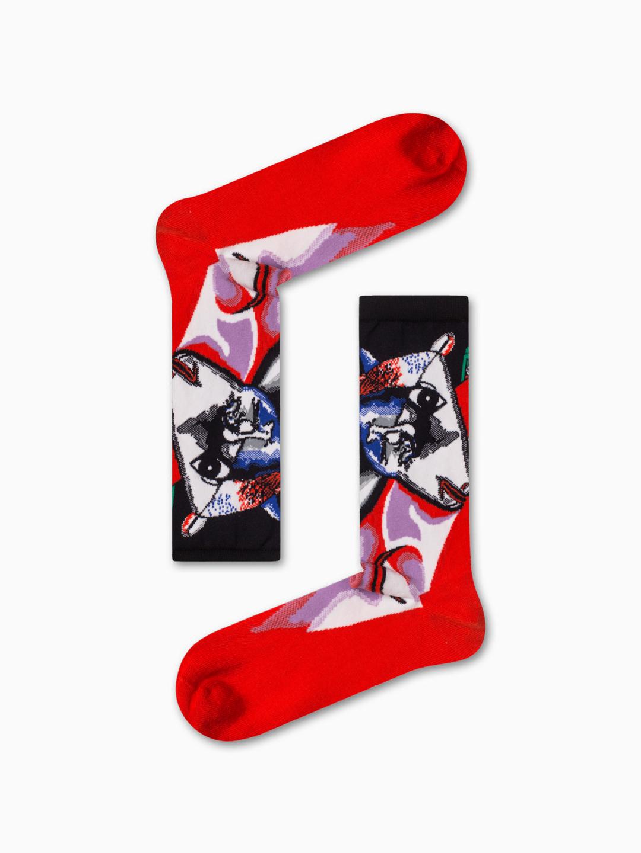 Κάλτσα Paint Art Χωρίς Ραφές Vtexsocks