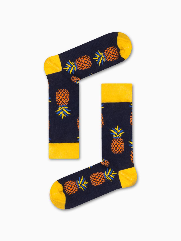 Κάλτσα Pineapple v1 Χωρίς Ραφές Vtexsocks