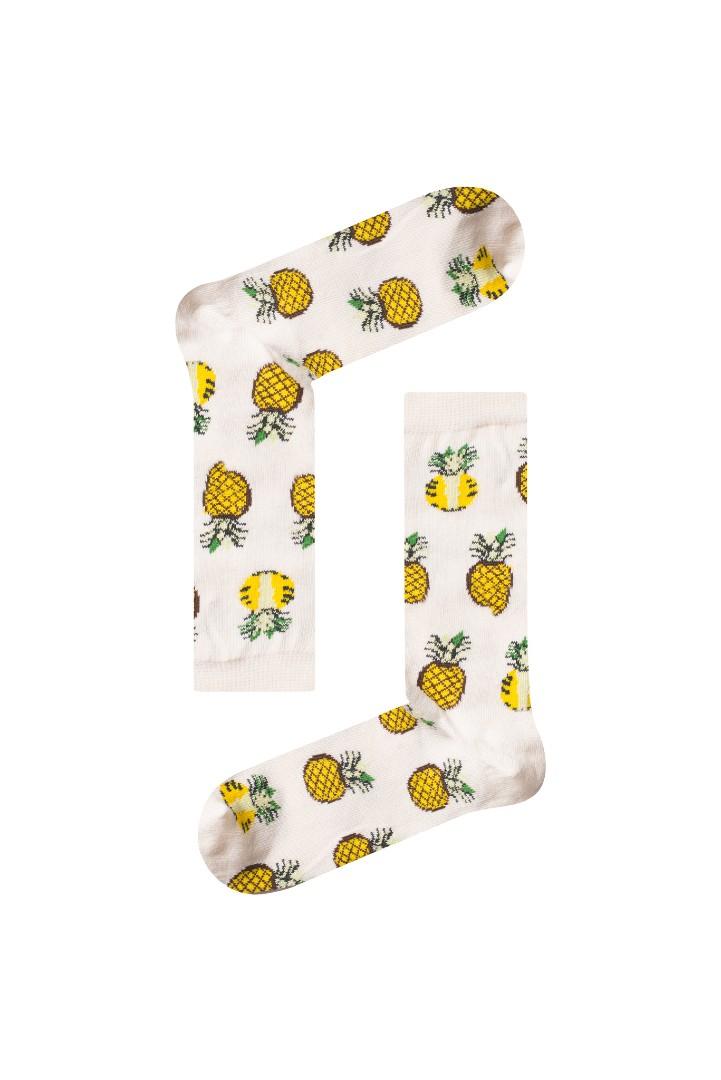 Κάλτσα Pineapple v3 Χωρίς Ραφές Vtexsocks