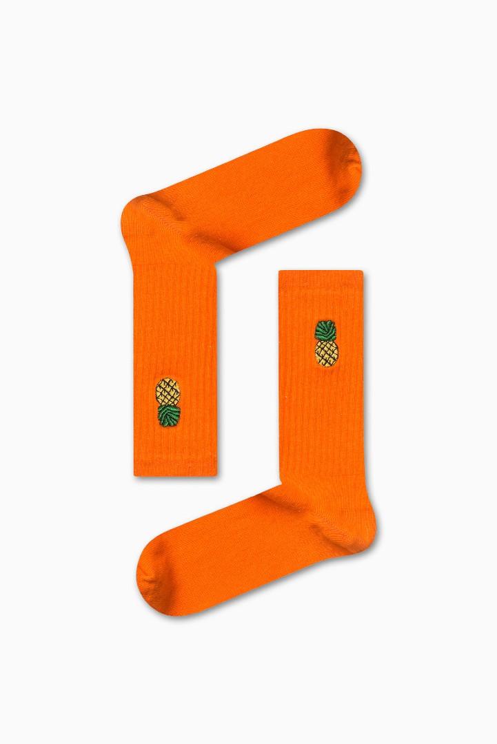 Κάλτσα Pineapple v4 Χωρίς Ραφές Vtexsocks
