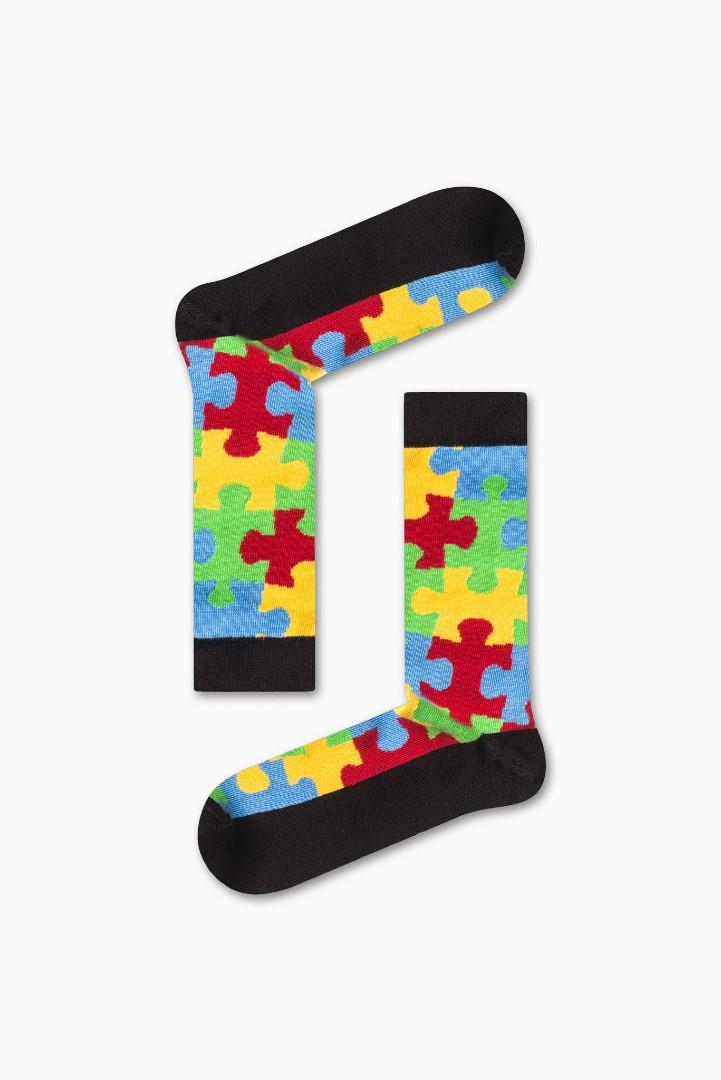 Κάλτσα Puzzle Χωρίς Ραφές Vtexsocks