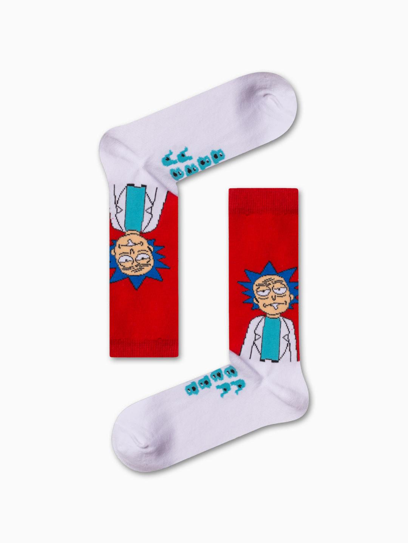 Κάλτσα Rick and Morty Χωρίς Ραφές Vtexsocks
