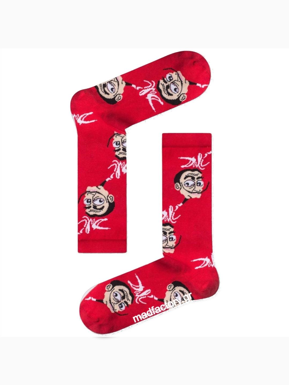 Κάλτσα Salvador Dali Red Vtexsocks