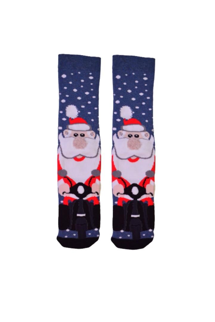 Κάλτσα Santa With Vespa Χωρίς Ραφές MadSocks