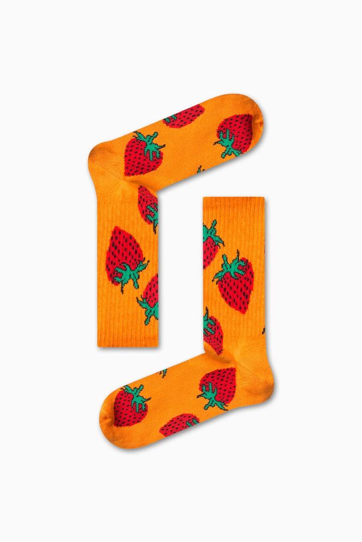 Κάλτσα Strawberry Χωρίς Ραφές Vtexsocks