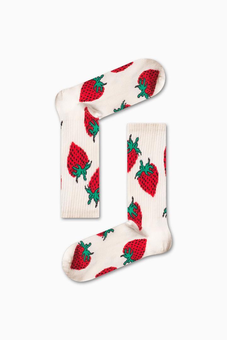 Κάλτσα Strawberry v1 Χωρίς Ραφές Vtexsocks