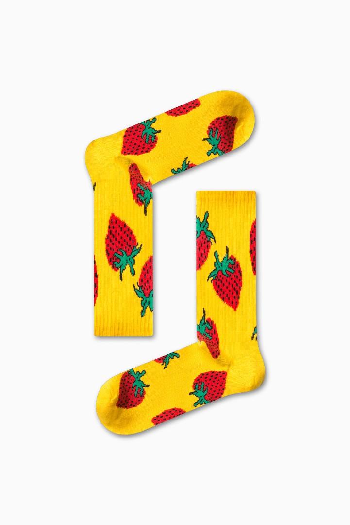 Κάλτσα Strawberry v2 Χωρίς Ραφές Vtexsocks