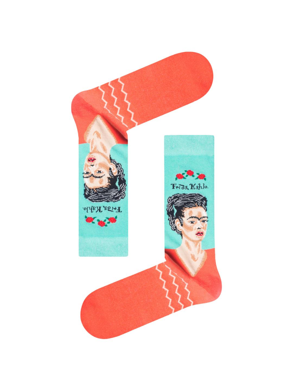 Κάλτσα Frida Kahlo Χωρίς Ραφές Vtexsocks
