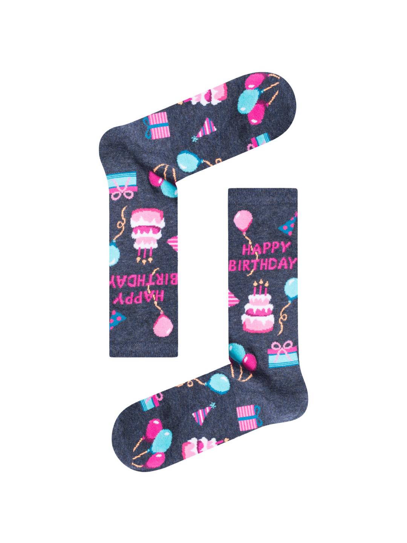 Κάλτσα Happy Birthday Χωρίς Ραφές Vtexsocks