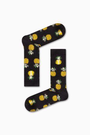 Κάλτσα Pineapple Black Χωρίς Ραφές Vtexsocks