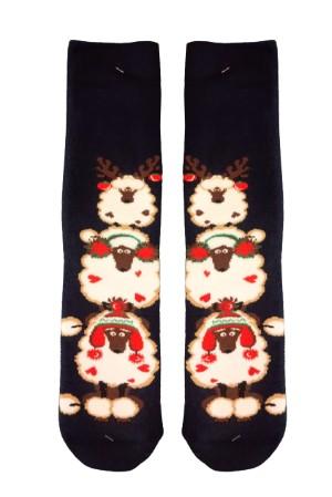 Χριστουγεννιάτικες Κάλτσες Christmas Sheep Tree Vtexsocks