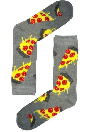 Κάλτσα Yummy Pizza v2 Χωρίς Ραφές Vtexsocks