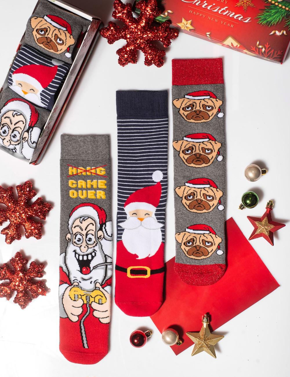 Κάλτσες Χριστουγεννιάτικες Play Time Vtexsocks Σετ 3 τμχ