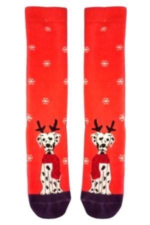 Χριστουγεννιάτικες Κάλτσες Dalmatias in Snow Vtexsocks