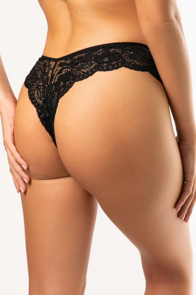 Εσώρουχα One Size Black Brazil Δαντέλα MadBox