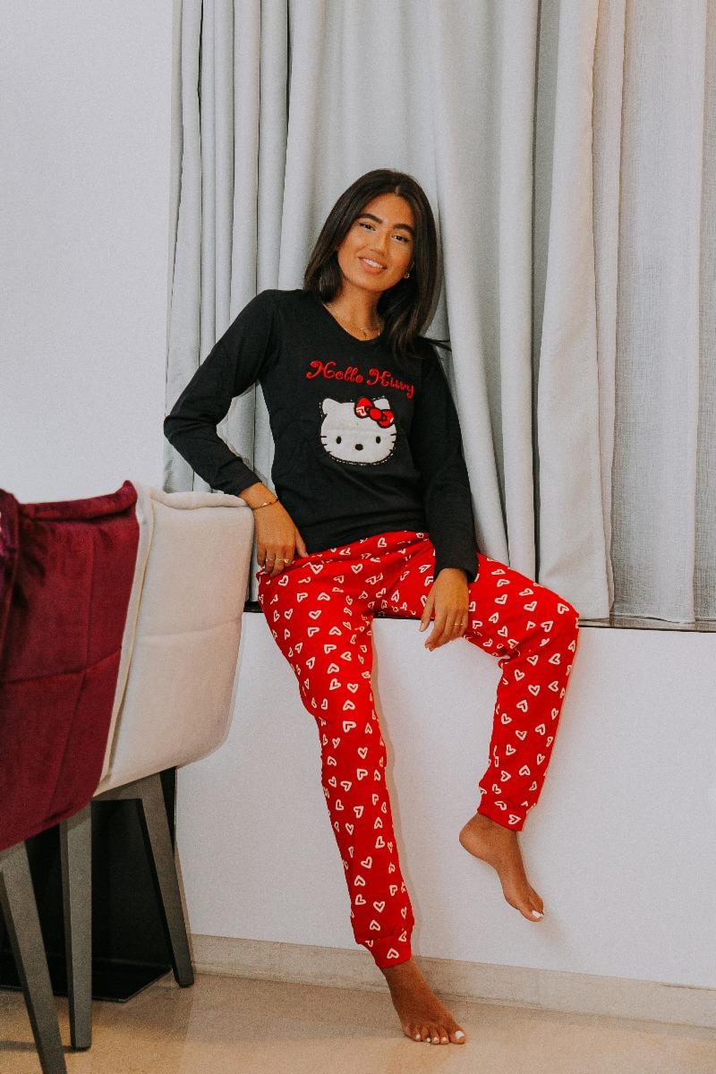 Πιτζάμα Γυναικεία Hello Kitty MadBox