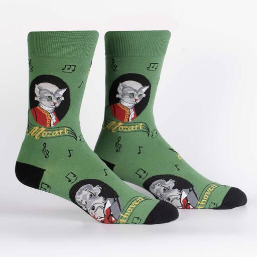 Κάλτσα Beethoven & Mozart Χωρίς Ραφές Vtexsocks