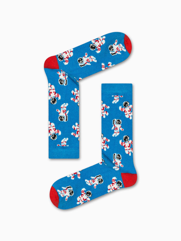 Κάλτσα Astronauts in Blue Χωρίς Ραφές Vtexsocks