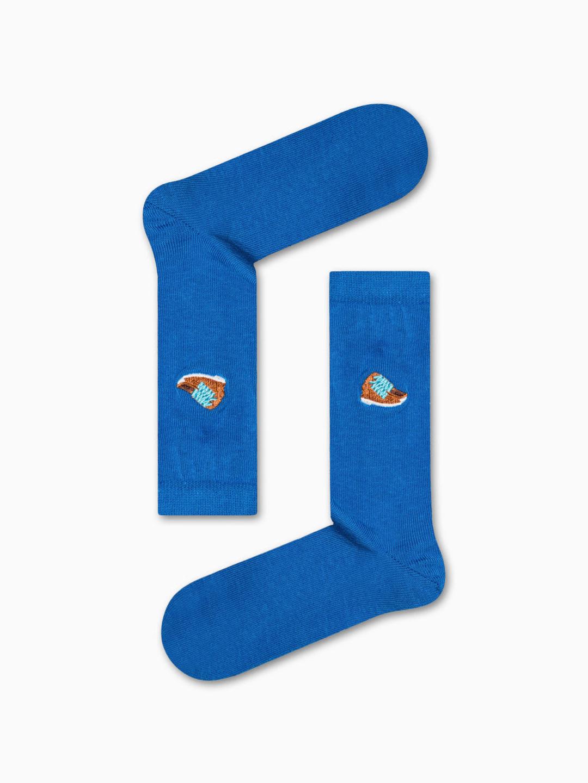 Κάλτσα Blue Sneakers Χωρίς Ραφές Vtexsocks