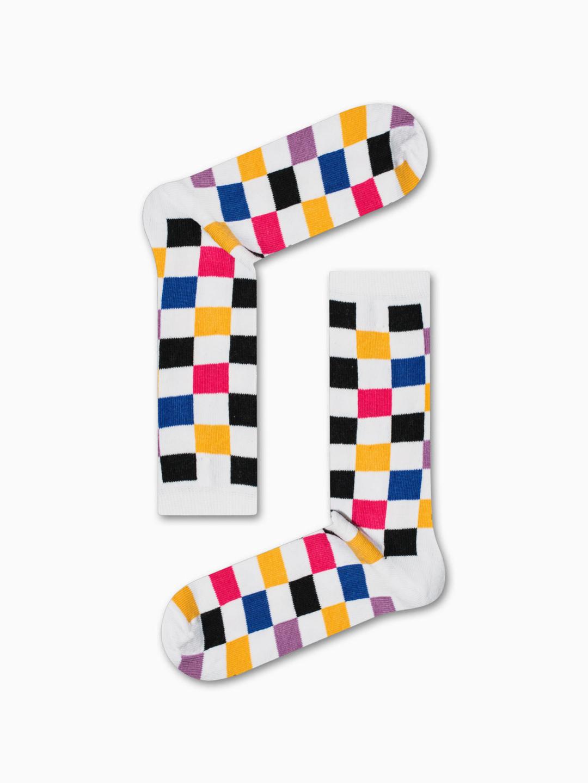 Κάλτσα Color Chessboard Χωρίς Ραφές Vtexsocks