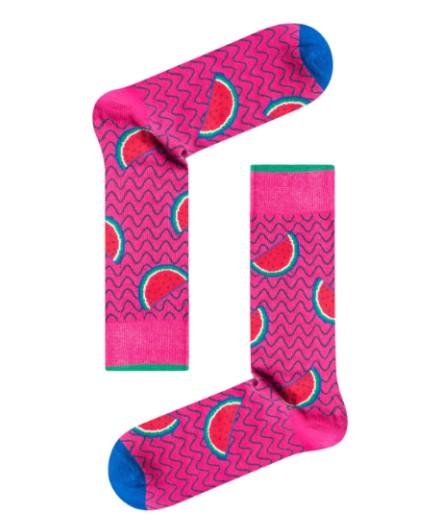 Κάλτσα Hot Pink Watermelon Χωρίς Ραφές Vtexsocks