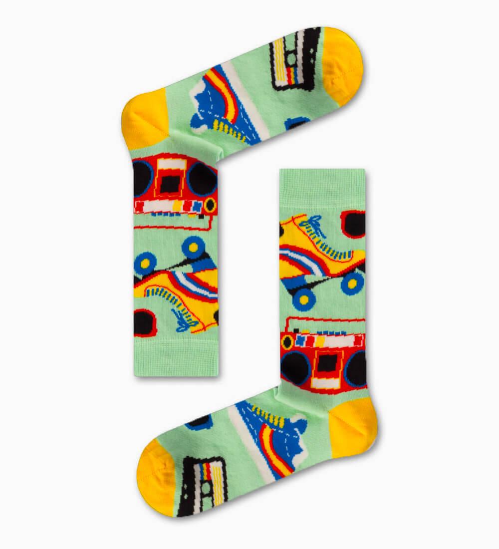 Κάλτσα Rollers Skate Χωρίς Ραφές Vtexsocks