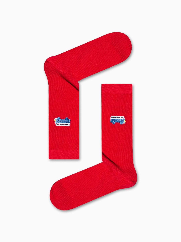 Κάλτσα Red Bus Χωρίς Ραφές Vtexsocks